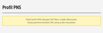 Cek NIP PNS di Web BKN Ternyata Data Tidak Ditemukan, Kenapa?