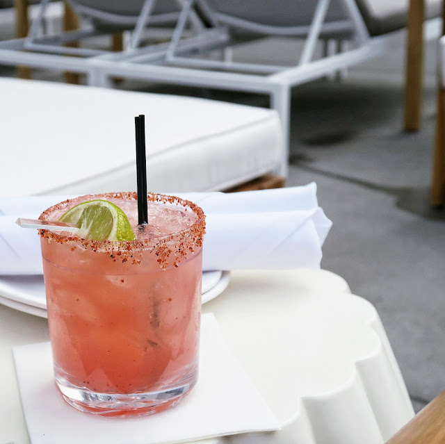watermelon margarita, san diego travel guide, hotels in san diego, everyday pursuits, pendry hotel, rooftop pool San Diego