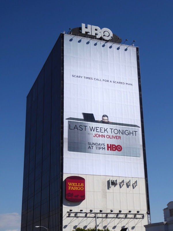 Giant Last Week Tonight with John Oliver season 4 billboard