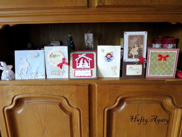Kartkowe wspomnienie Świąt