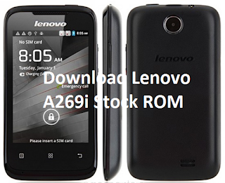 Download Lenovo A269i Stock ROM