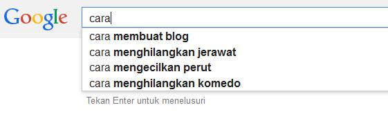 Cara Menggunakan Google Suggest Keyword Tools