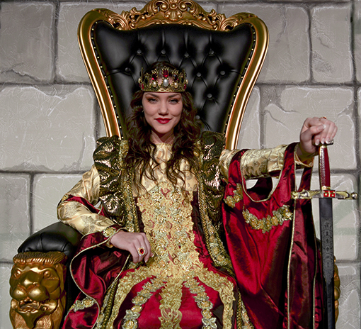 The Queen | Photo credit: Medieval Times Atlanta