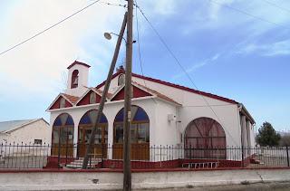ο ναός της αγίας Μαρίνας στη Μαρίνα της Φλώρινας