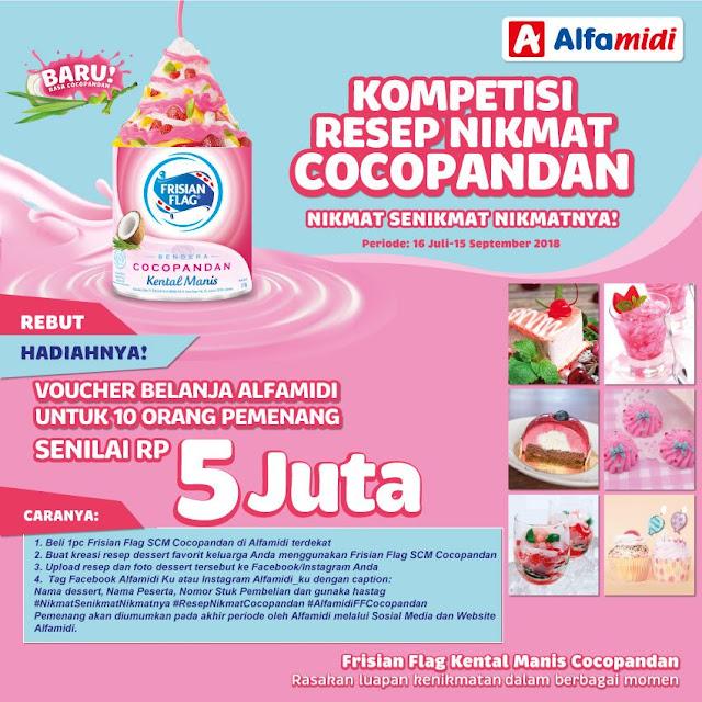 Alfamidi - Promo Kompetisi Resep Nikmat CocoPandan - 5 Juta Untuk 10 Orang
