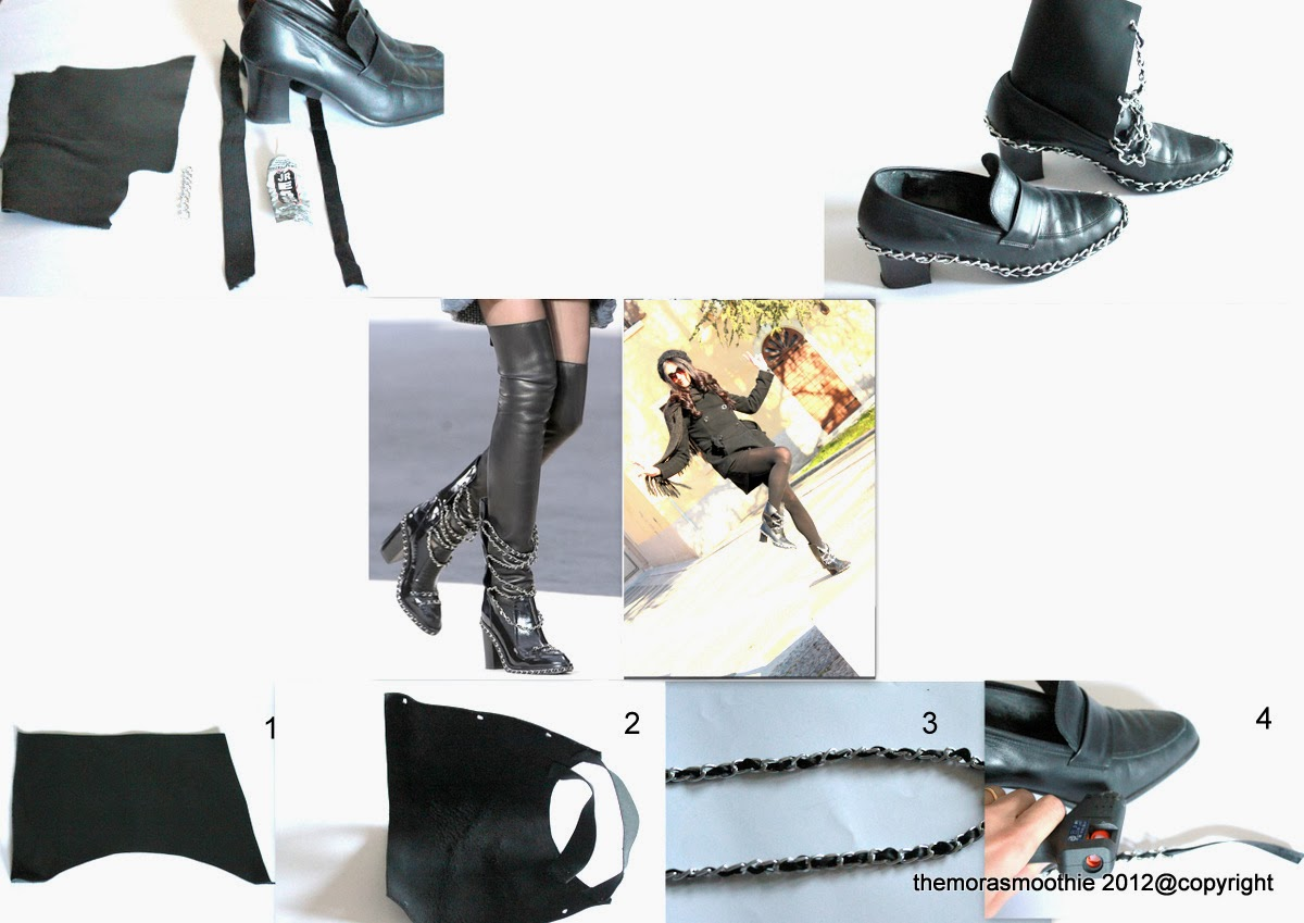 diy fashion, diy blog, diy blogger, diy shoes, diy chanel, chanel, tutorial shoes, craft, crafts