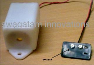 rain sensor prototype image