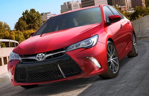 The Best Performances Sexy Red Hot New Toyota Camry Hybrid 2015