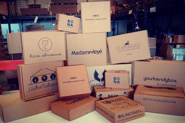 cajas para el comercio electrónico