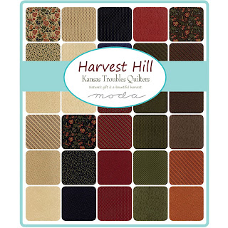 Moda Harvest Hill Fabric by Kansas Troubles Quilters for Moda Fabrics
