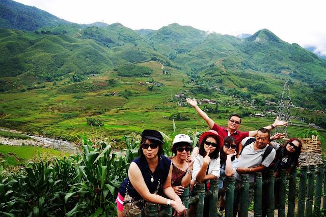 Vietnam surreal landscape
