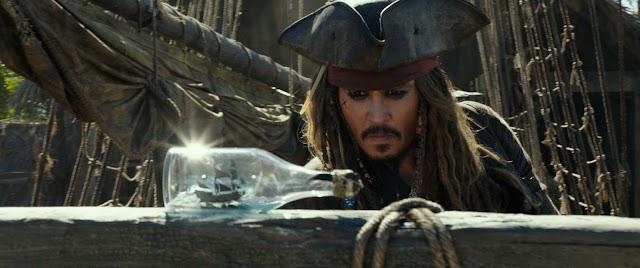 Aquecimento Piratas do Caribe: A Vingança de Salazar