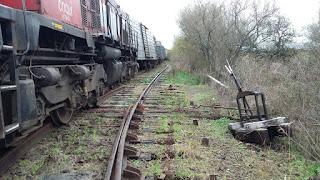 Descarrilamiento en en Ferrocarril Urquiza