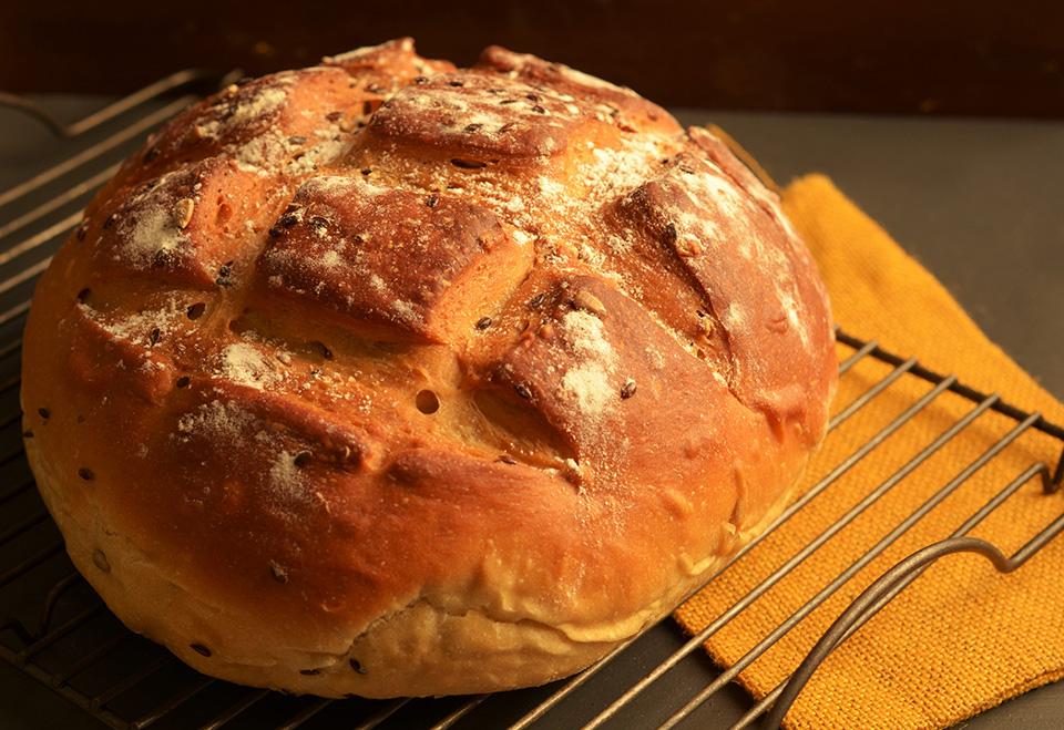 100% whole wheat brown bread