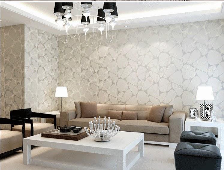 Meriahkan Interior Dengan Wallpaper Ruang Tamu Minimalis
