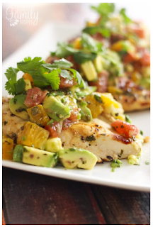 Citrus Avocado Chicken