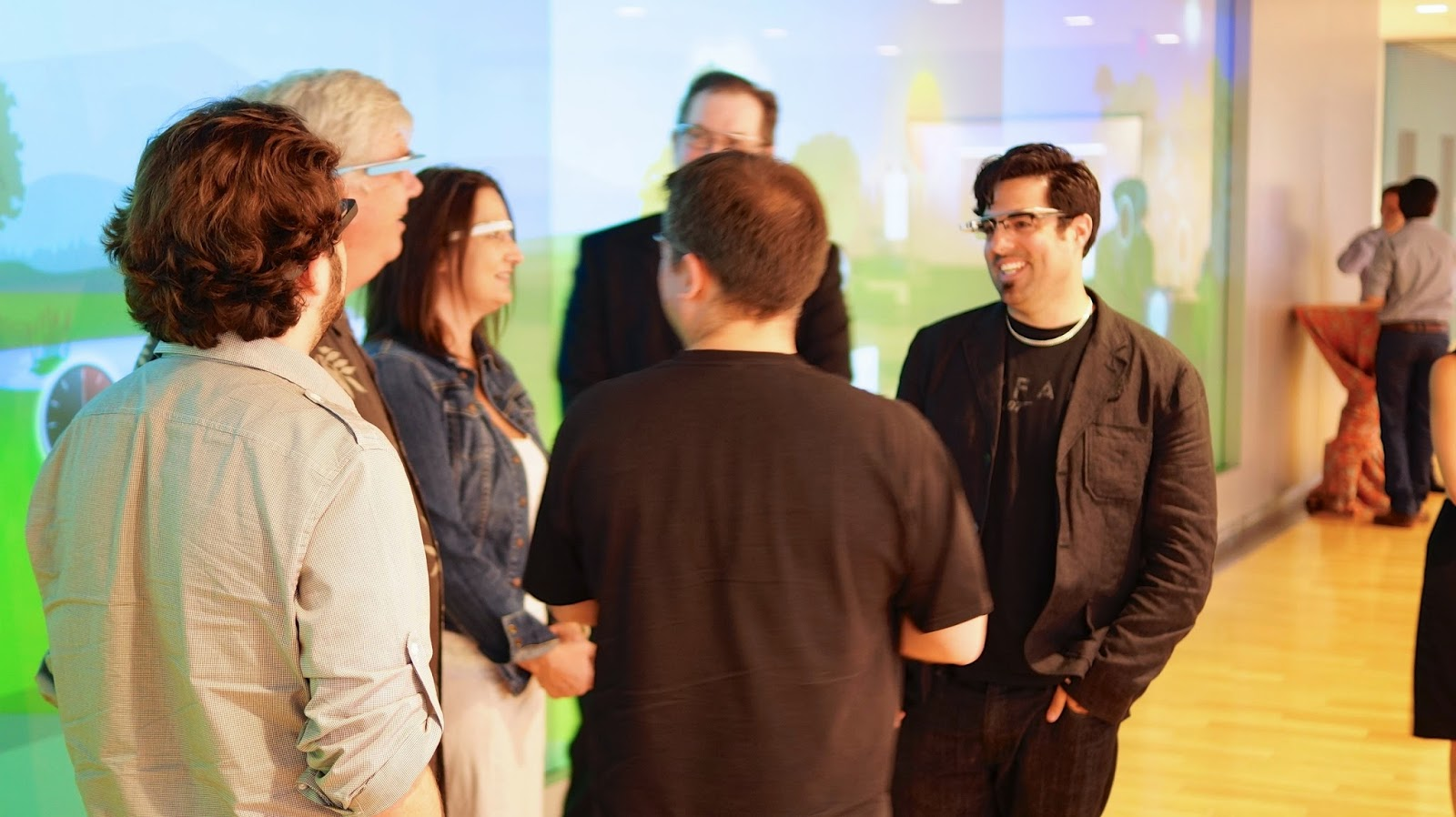 Using Google Glass at events like trade shows