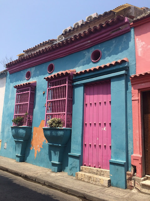 The Old City (or Walled City), Cartagena, Colombia