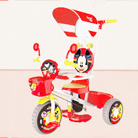 mickey mouse official licensed tricycle