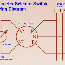 Voltmeter Selector Switch Wiring Diagram Wiring Diagrams