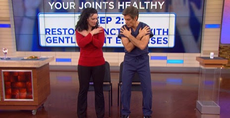Dr. Oz's 3 Step Plan for Joint Health