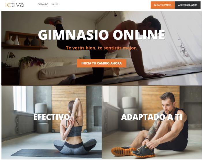 Ictiva descuento gimnasio online