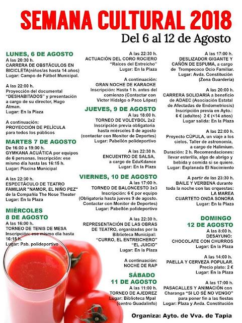 Semana Cultural de Villanueva de Tapia