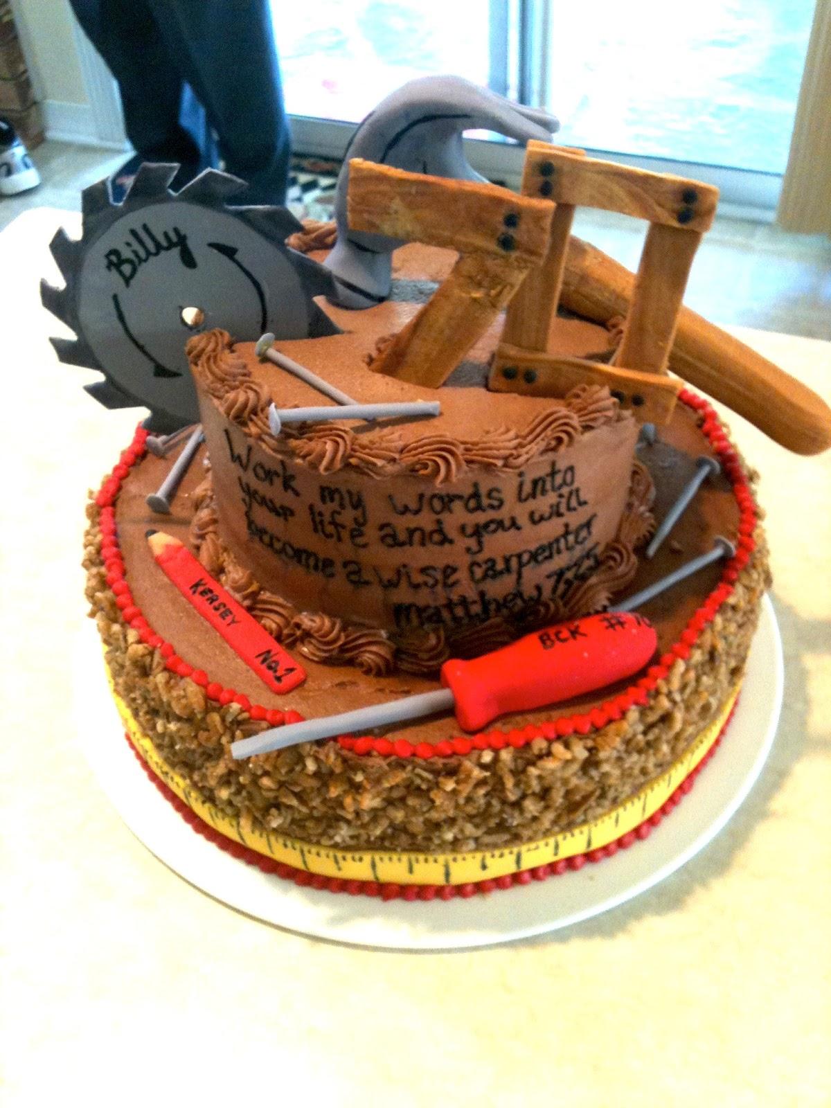 Carpenter Cake On Pinterest Tool Cake 70th Birthday