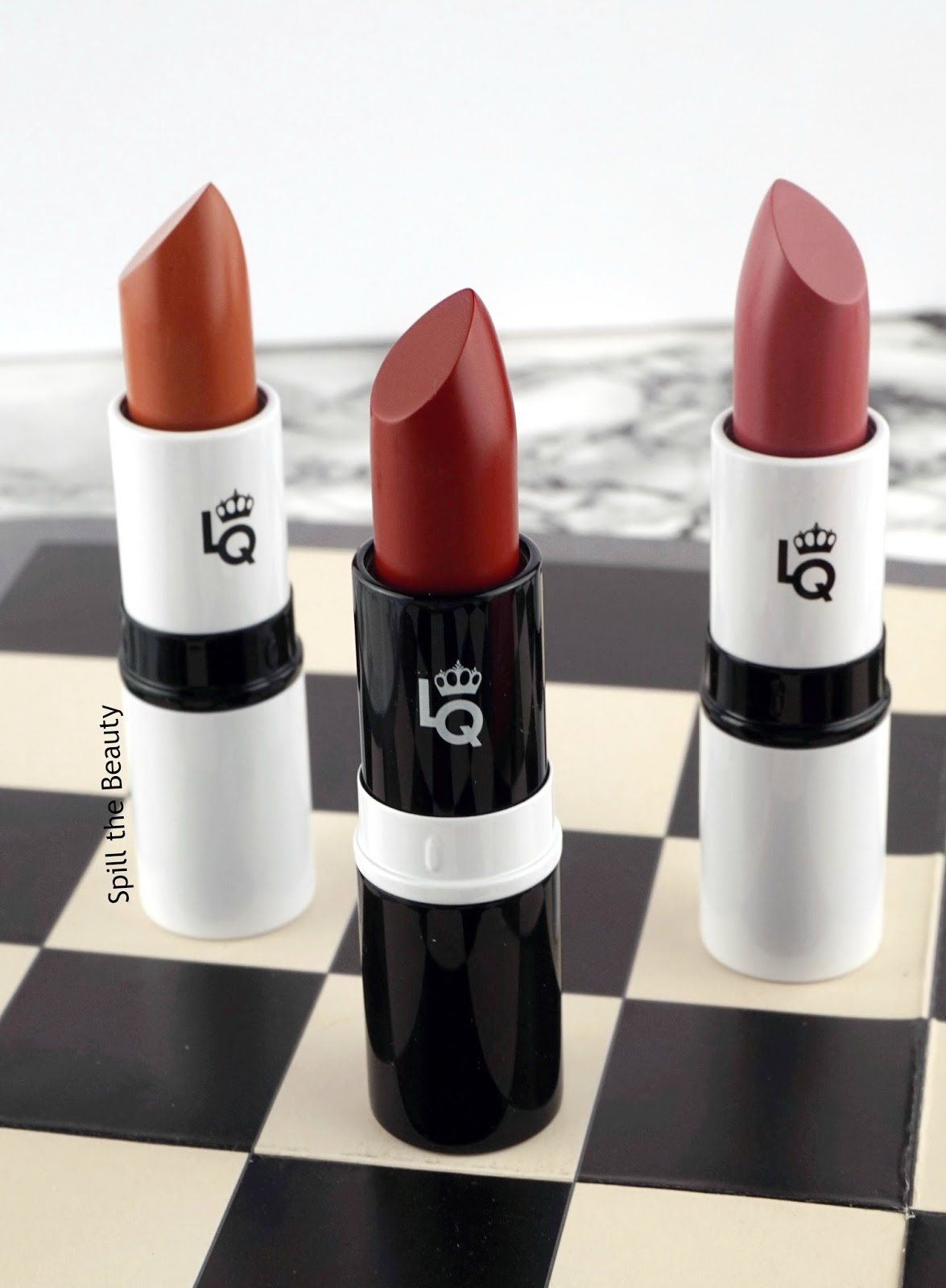 lipstick queen lipstick chess review swatches pawn bishop queen