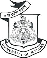 Mysore University Time Table 2018