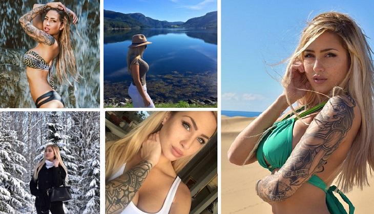10 Foto Paling HOT Zhara Nilsson Model Cantik Dan Juga Blogger Asal Australia Serta Wallpaper