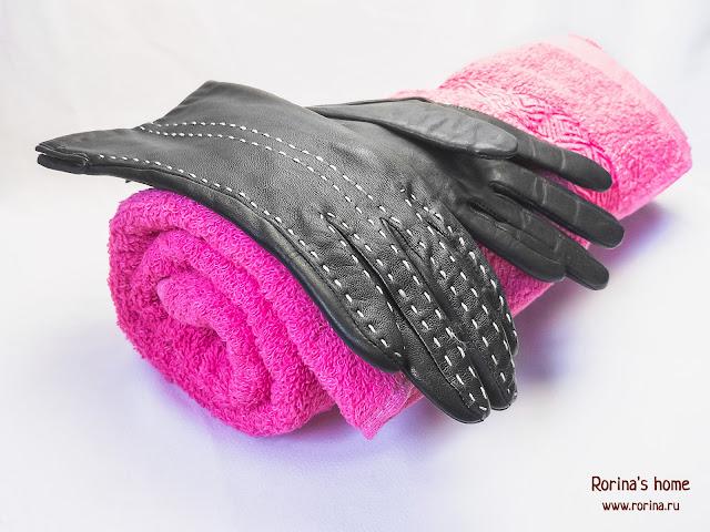 Как растянуть кожаные перчатки аккуратно?