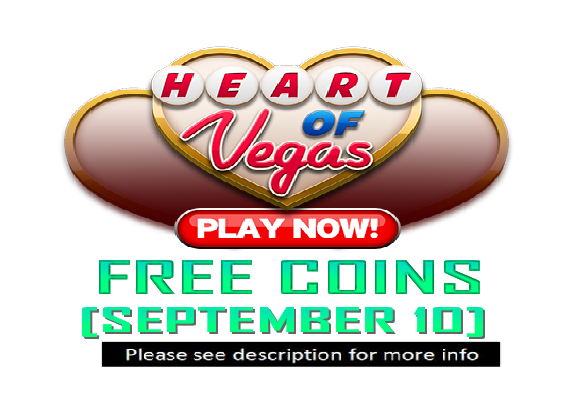 heart of vegas 49 999 free coins september 10. Black Bedroom Furniture Sets. Home Design Ideas