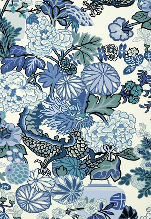 Cush And Nooks Chiang Mai Dragon Wallpaper