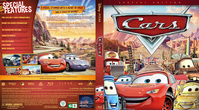 Cars Bluray Cover