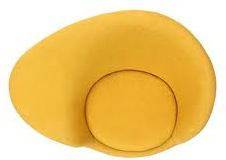 fried egg chair cover rentals md mid2mod hans olsen top view chairblog eu