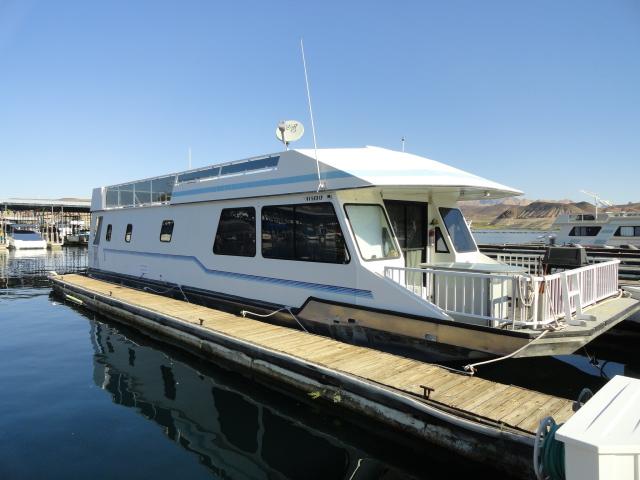 Boulder Boats Blog: 1998 Fun Country 56' Houseboat