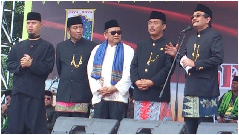 Acara Lebaran Betawi di Lapangan Banteng, Jakpus