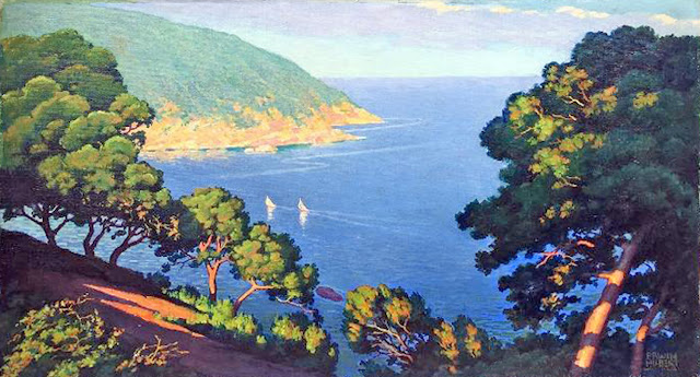 Erwin Hubert, Mallorca en Pintura, Mallorca Pintada, Paisajes de Mallorca, Paisajes de Erwin Hubert