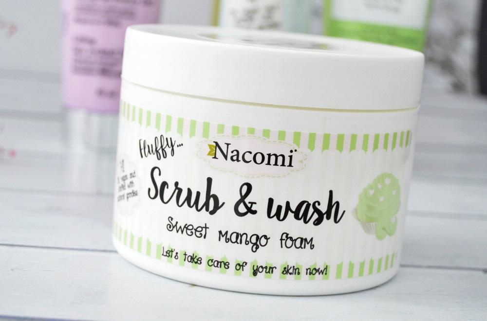 Nacomi Fluffy Scrub & Wash mango