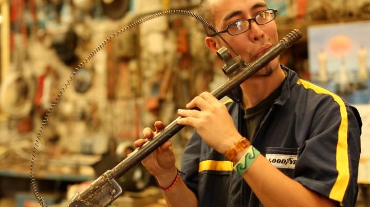 Pedro Reyes. Музыкальное оружие 6