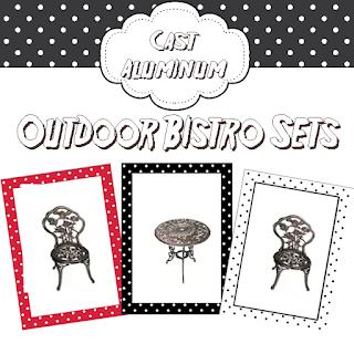 Cast Aluminum Outdoor Bistro Sets, Outdoor Bistro Sets, Bistro Sets, Outdoor Furniture,