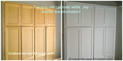 Painting Oak Cabinets In Kitchen