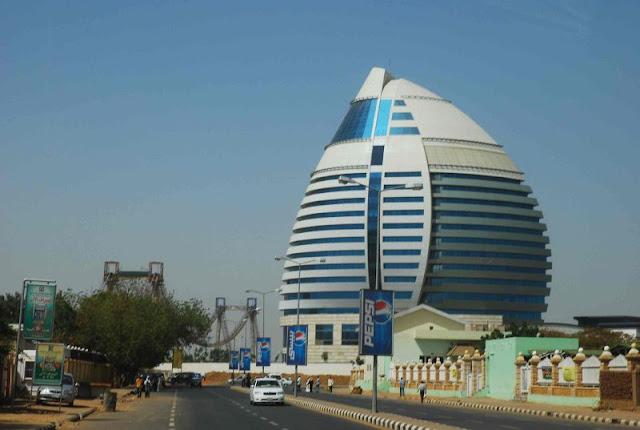 صورة برج الفاتح  من العاصمة السودانية الخرطوم