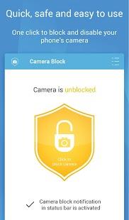 تحميل تطبيق Camera Block - Secure Privacy pro للاندرويد