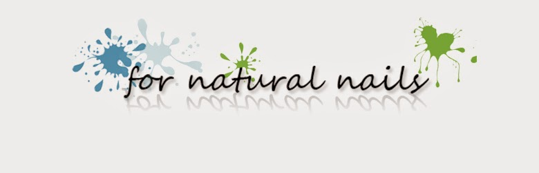 For natural nails