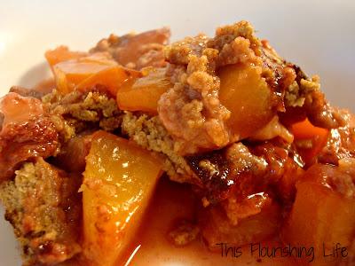 Recipe: Strawberry Peach Cobbler Using Oat Flour