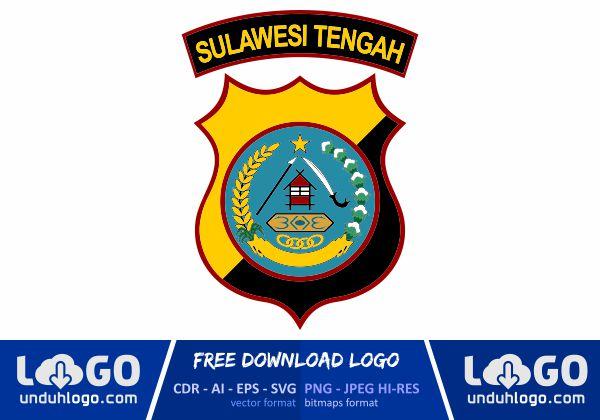Logo Polda Sulawesi Tengah