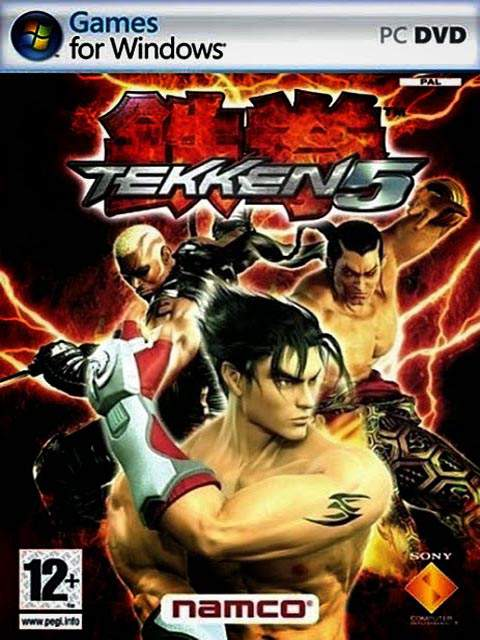 تحميل لعبة Tekken 5 مضغوطة برابط واحد مباشر كاملة مجانا