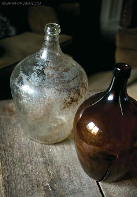 Vintage bottle in georgia